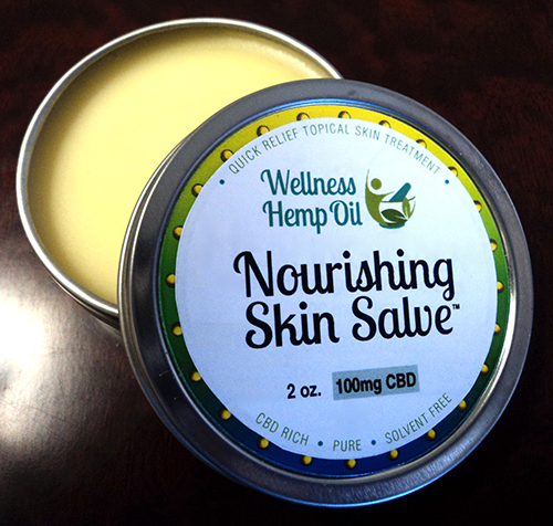 Wellness Hemp Oil 100mg CBD Nourishing Skin Salve